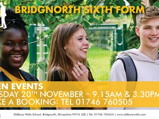 The Bridgnorth 6th Form is Launched